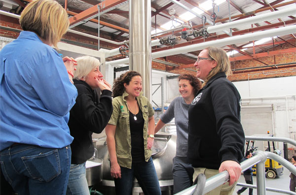 Women of Beer Brew Day 2012